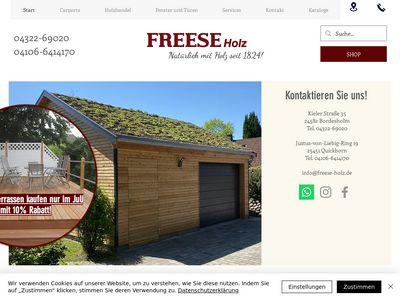 Freese Holz
