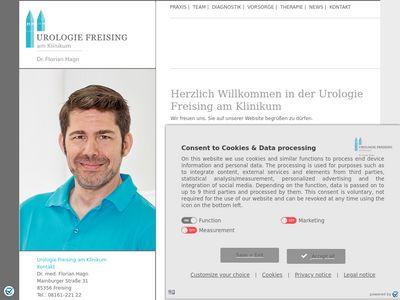 Dr.med. Florian Hagn Facharzt für Urologie