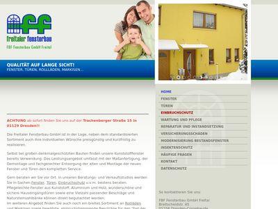 FBF Fensterbau GmbH Freital