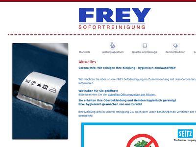 Frey Sofortreinigung