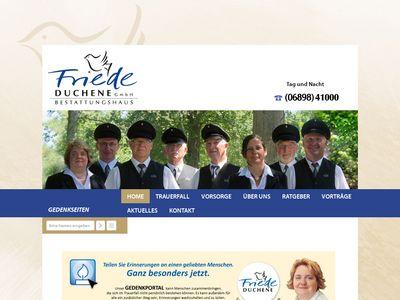"""Bestattungshaus """"Friede"""" Duchene GmbH"""