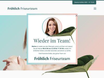 Fröhlich Friseurteam