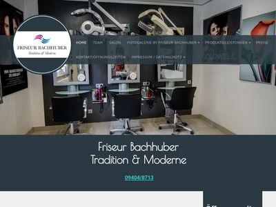 Friseur Bachhuber - Tradition + Moderne