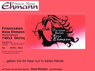 Rose Ehmann