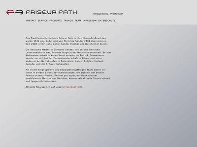 Friseur Fath Inh. Daniel Sander Friseursalon