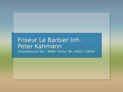 Friseur Le Babier Inh. Peter Kahmann