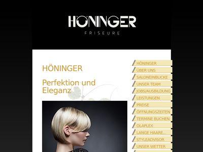 Höninger Hartmut Friseur