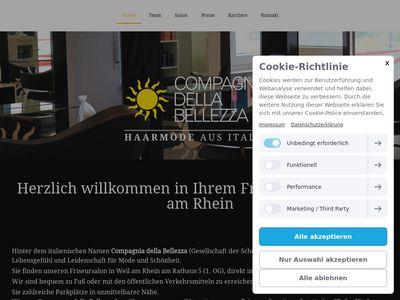 Compagnia della Bellezza Friseur Weil am Rhein