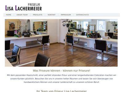 Friseur Lisa Lachermeier
