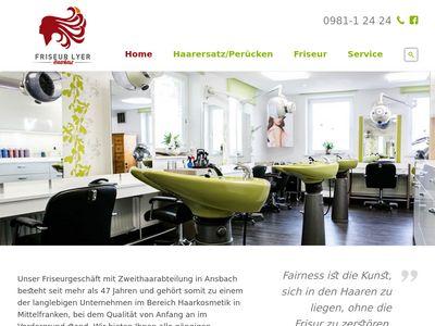 Friseur + Haarhaus Lyer