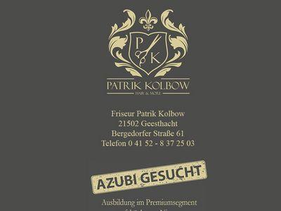 Friseur Patrik Kolbow