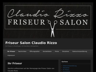 Claudio Rizzo Friseur Salon Reutlingen