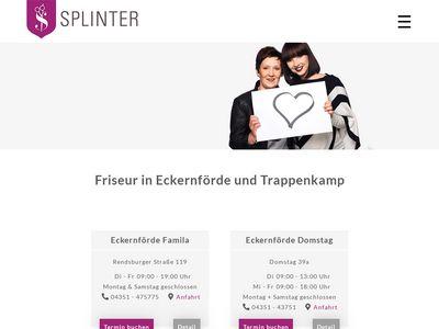 Splinter Friseur Aktuell Limited Friseur