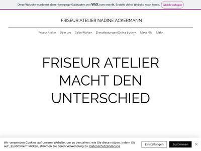Friseur Atelier Nadine Ackermann