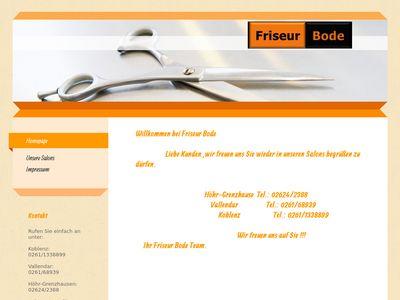 Friseur Bode