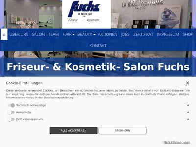 Friseur- + Kosmetik- Salon Fuchs