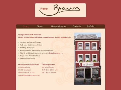 Friseursalon Braun