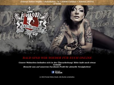 Frontal - Tattoo & Piercing