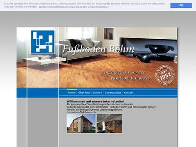 Fussboden Böhm GmbH Fussbodenbau