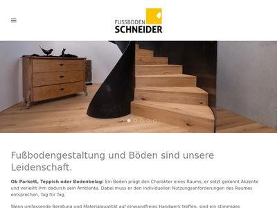 Schneider Fussboden GmbH & Co. KG