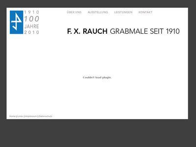F.X. Rauch Grabmale