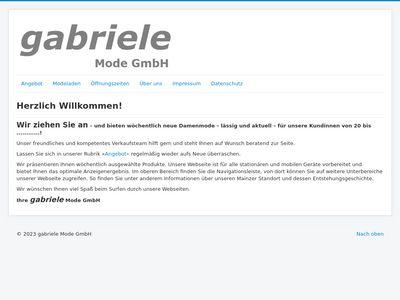 Gabriele Mode GmbH