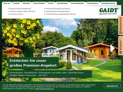 Gaidt Blockhäuser GmbH