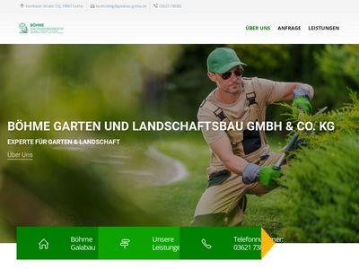 Böhme Garten- und Landschaftsbau KG