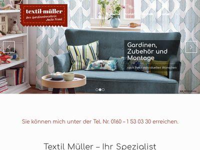 Gardinen Textil - Müller