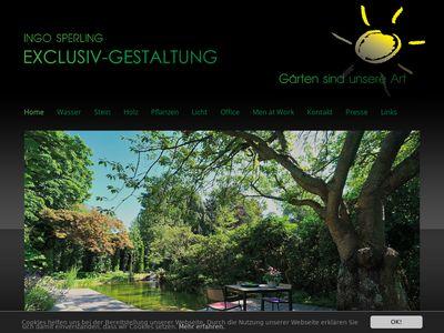 Ingo Sperling Exclusiv - Gestaltung