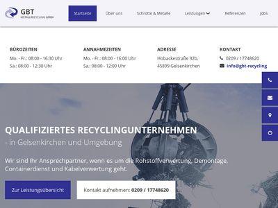 GBT Schrott- und Metallrecycling GmbH