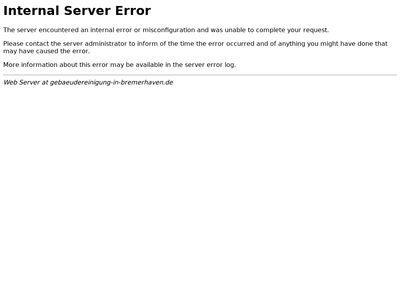 Gebäudereinigung Bremerhaven