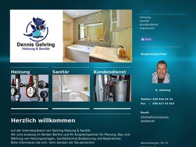 Gehring Heizung & Sanitär