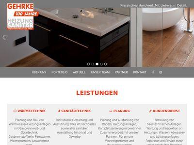 Gehrke Heizungs- und Sanitärtechnik GmbH