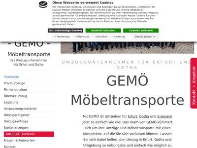 GEMÖ Möbeltransporte GmbH Umzüge