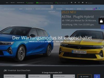 Genge Automobile - Opel Zentrum Spre
