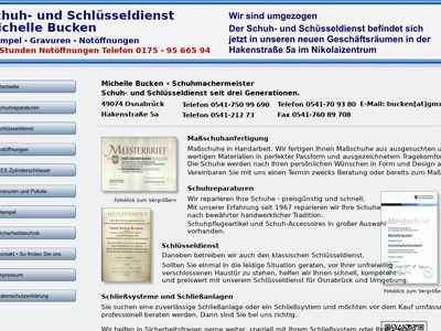 Gerhard Bucken Schuh- und Schlüsseldienst