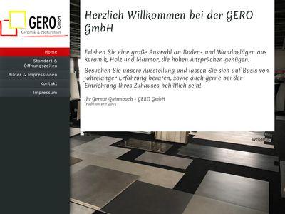 GERO Gmbh - Keramik & Naturstein