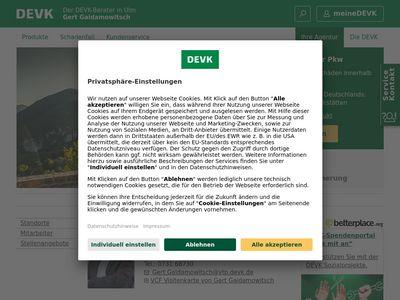 DEVK Versicherung: Gert Gaidamowitsch