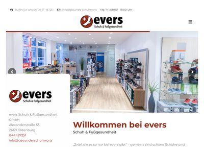 Evers Schuh & Fussgesundheit