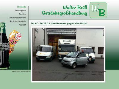 Brüll Walter Getränkegrosshandel