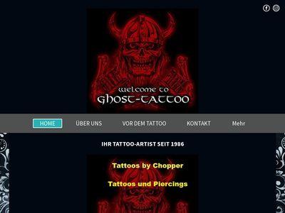 Ghost-Tattoo Tattoostudio