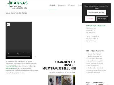 Farkas Glaserei und Glashandel