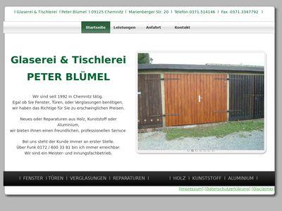 Peter Bümel Bauglaserei Blümel