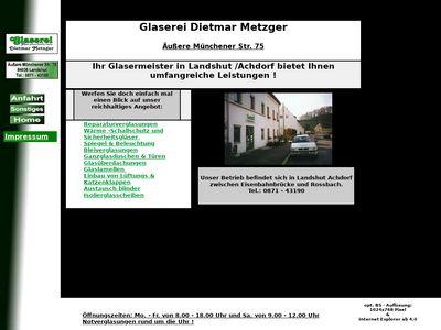 Dietmar Metzger Glaserei
