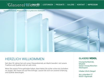 Glaserei Wendl Inhaber Ulrich Zängerl