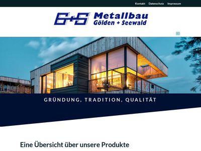 Gölden und Seewald Metallbau GmbH