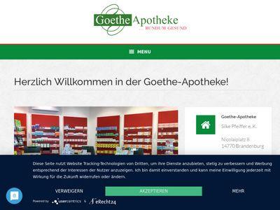 Goethe-Apotheke Brandenburg