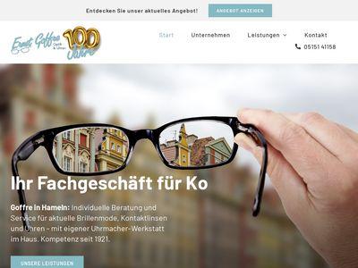 Goffre Ernst Optik-Uhren-Kontaktlinsen