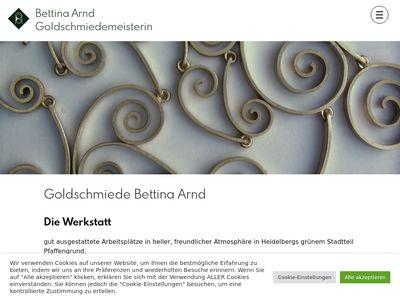 Bettina Arnd Goldschmiedemeisterin